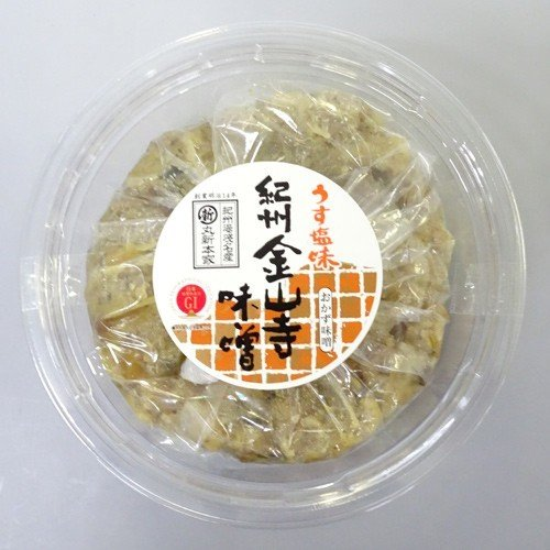 丸新本家 紀州金山寺味噌[うす塩味](460g)