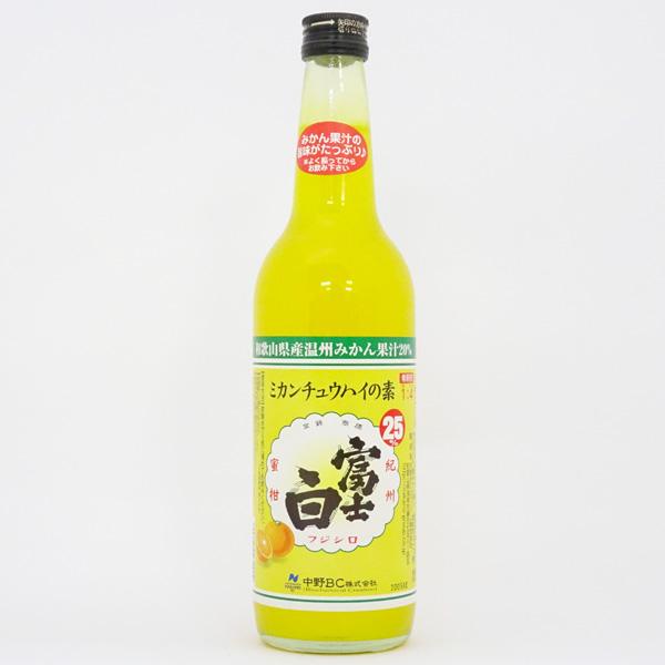 中野BC 富士白ミカンチュウハイの素(600ml)
