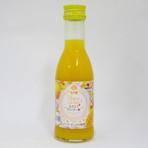 中田食品 とろこくマンゴー姫 マンゴーたっぷり梅酒(180ml)