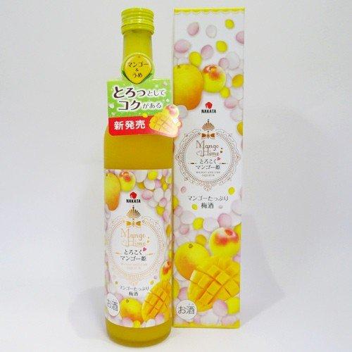 中田食品 とろこくマンゴー姫 マンゴーたっぷり梅酒(500ml)