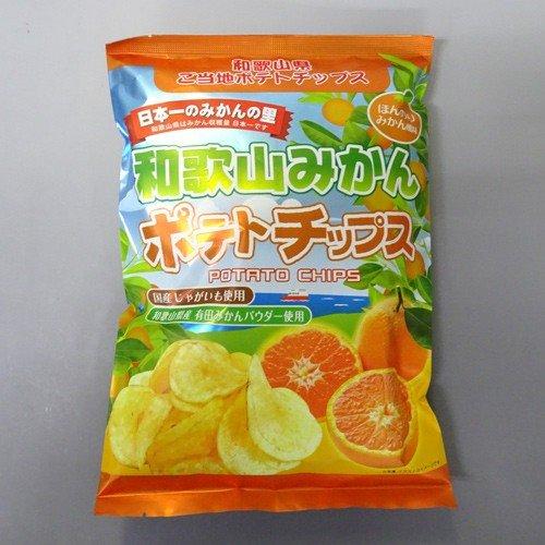 オカザキ紀芳庵 和歌山みかんポテトチップス(120g)