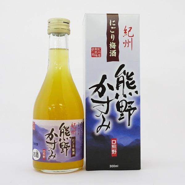 プラム食品 にごり梅酒「熊野かすみ」300ml