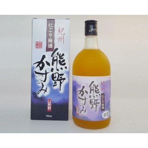 プラム食品 にごり梅酒「熊野かすみ」720ml