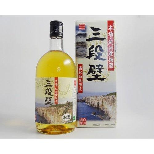 プラム食品 三段壁梅酒 (720ml)