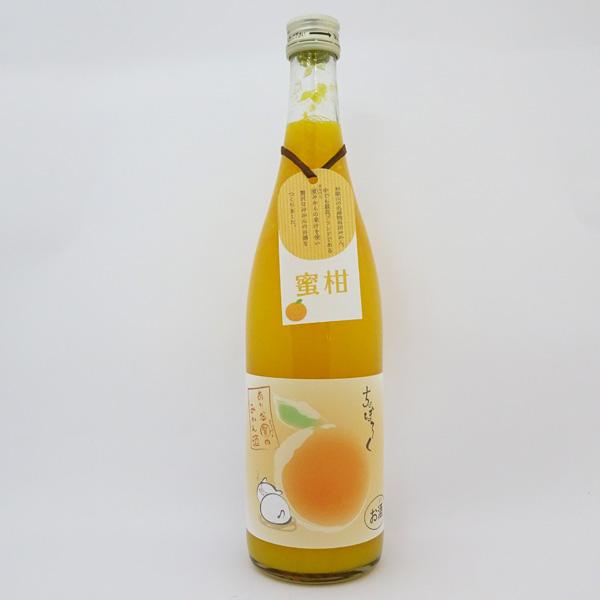世界一統 ちょぼろく 有田まるけんのみかん酒(720ml) ありだまる賢のみかん酒