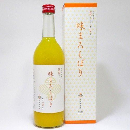 早和果樹園 味まろしぼり(720ml)