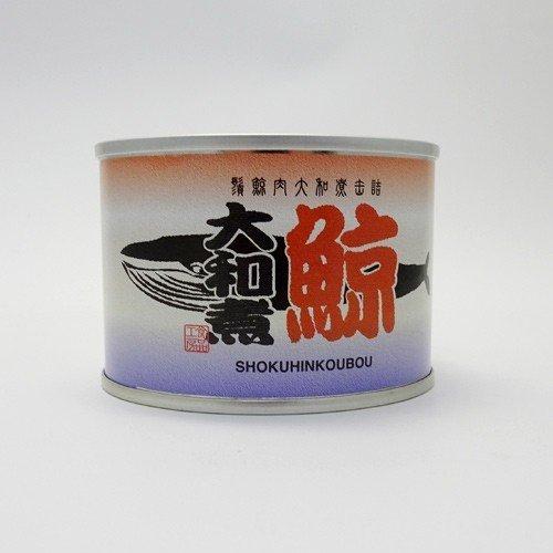 食品工房 髭鯨大和煮 缶詰