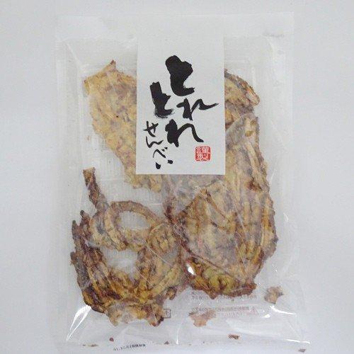 とれとれせんべい いかの鉄板焼きせんべい(58g)