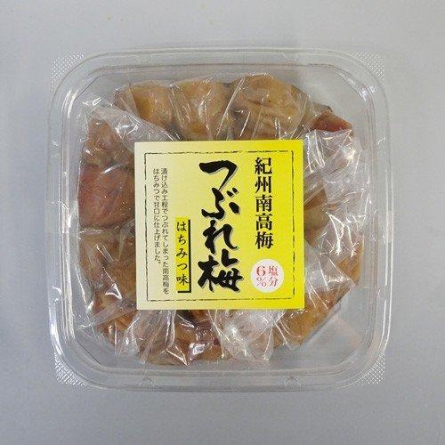 紀州南高梅 つぶれ梅 はちみつ味 350g