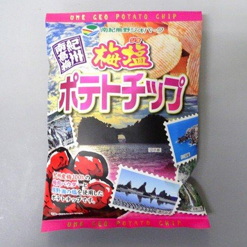 山崎梅栄堂 梅塩ポテトチップ(120g)