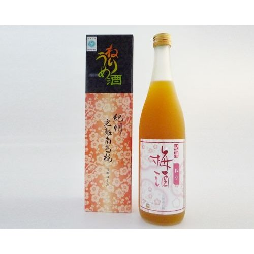 吉村秀雄商店 紀州完熟南高梅「ねりうめ酒」(720ml)