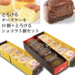 美味しいとろけるチーズケーキ10個+とろけるショコラ5個【丹那牛乳】【ヒルナンデス紹介】
