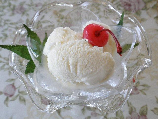 桃のアイスクリーム 500ml
