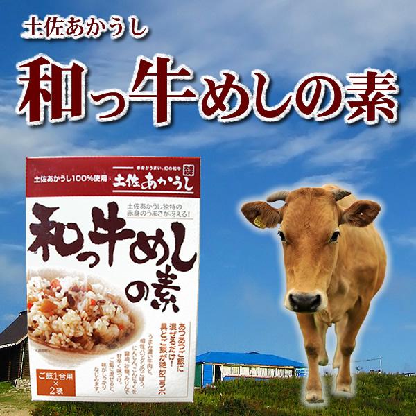 土佐あかうし100%使用 和っ牛飯の素