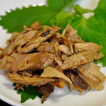 【鰹のお惣菜】 焼きかつお荒ほぐし(オリーブオイル浸け) サブ画像