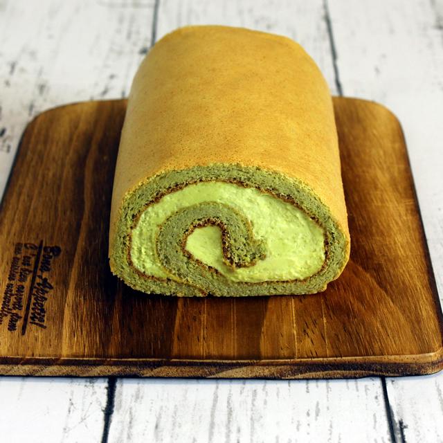 低糖質ロールケーキ(ピスタチオ)