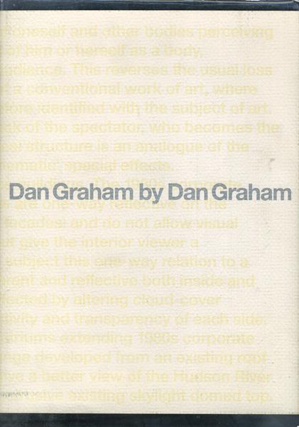 ダン・グレアムによるダン・グレアム 展 図録