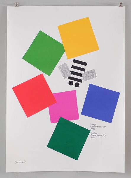 Paul Rand ポスター: Tokyo Communication Arts / Osaka Communication Arts