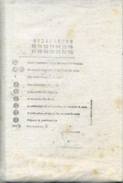 Maison Martin Margiela ルックブック 5冊セット