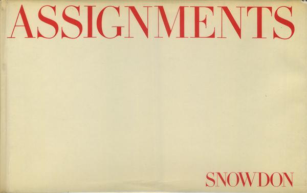 SNOWDON: ASSIGNMENTS