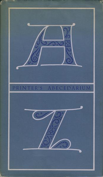 Printer's Abecedarium