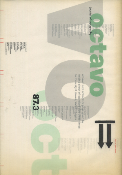 OCTAVO journal of typography 3