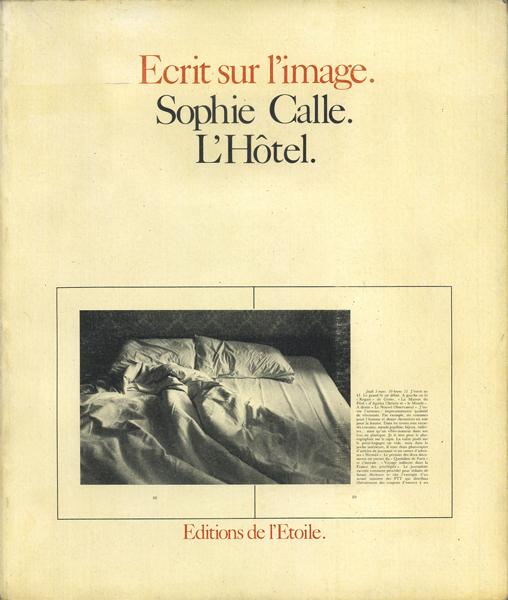 Sophie Calle: L'Hotel