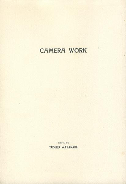 カメラ・ウヮーク CAMERA WORK