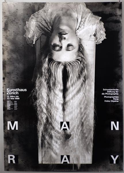 Werner Jeker: Man Ray 1988 ポスター