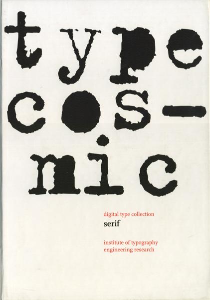 Typecosmic: digital collection serif