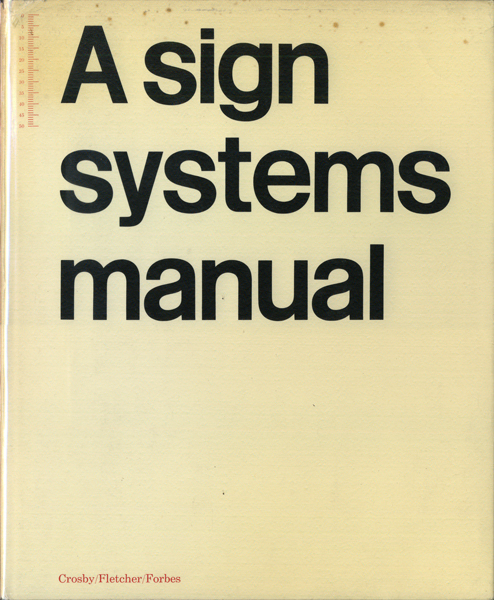 A sign systems manual