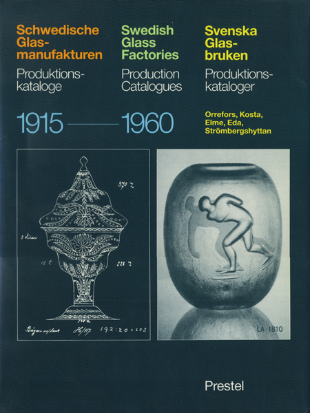 Swedish Glass Factories Production Catalogues 1915-1960