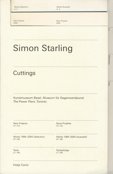Simon Starling: Cutting