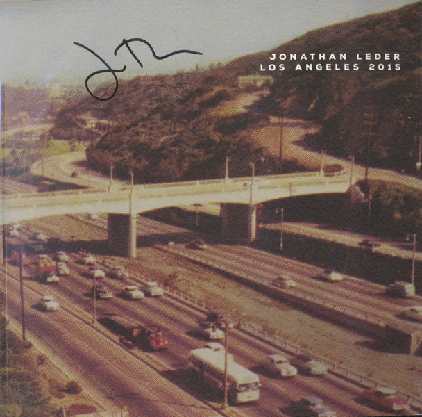 Jonathan Leder: Los Angeles 2015 [signed]