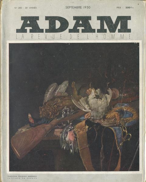 ADAM: la Revue de l'Homme  1950年代 8冊セット