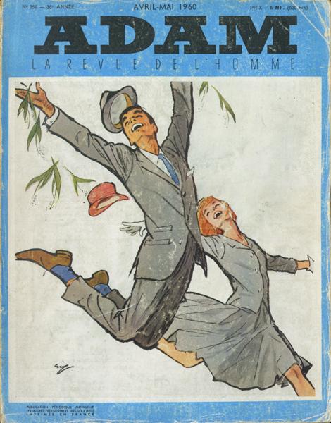 ADAM: la Revue de l'Homme  1960年代  3冊セット