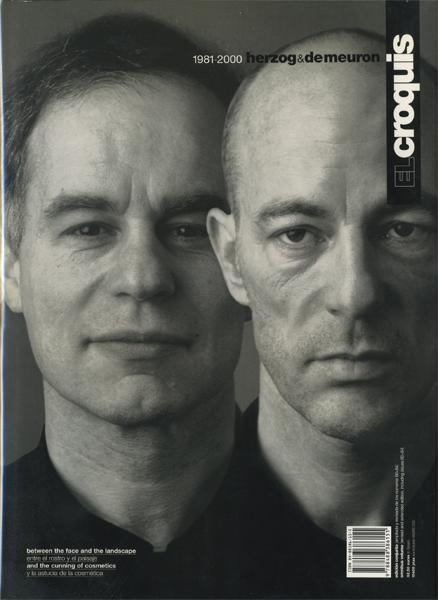 Herzog & de Meuron1981-2000: El Croquis 60+84