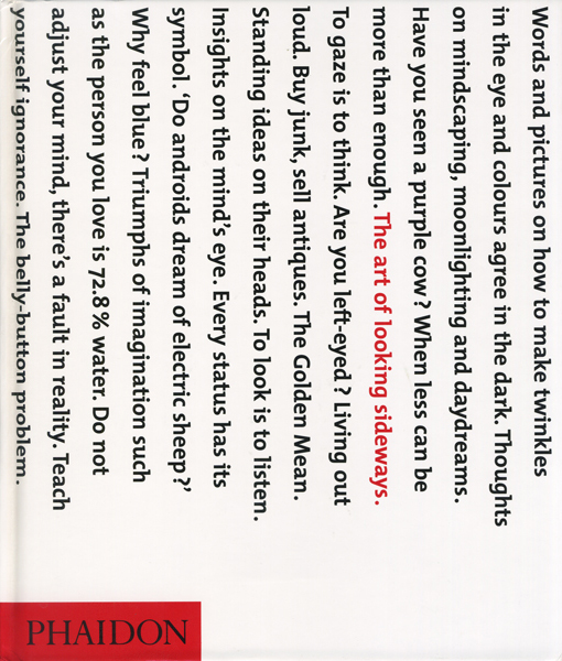 Alan Fletcher: The Art of Looking Sideways Phaidon 2001年