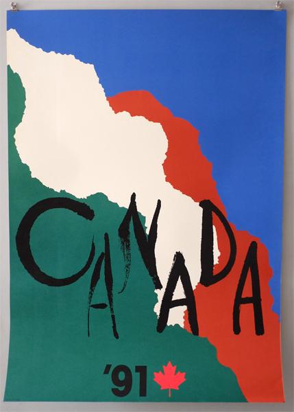 田中一光ポスター CANADA'91