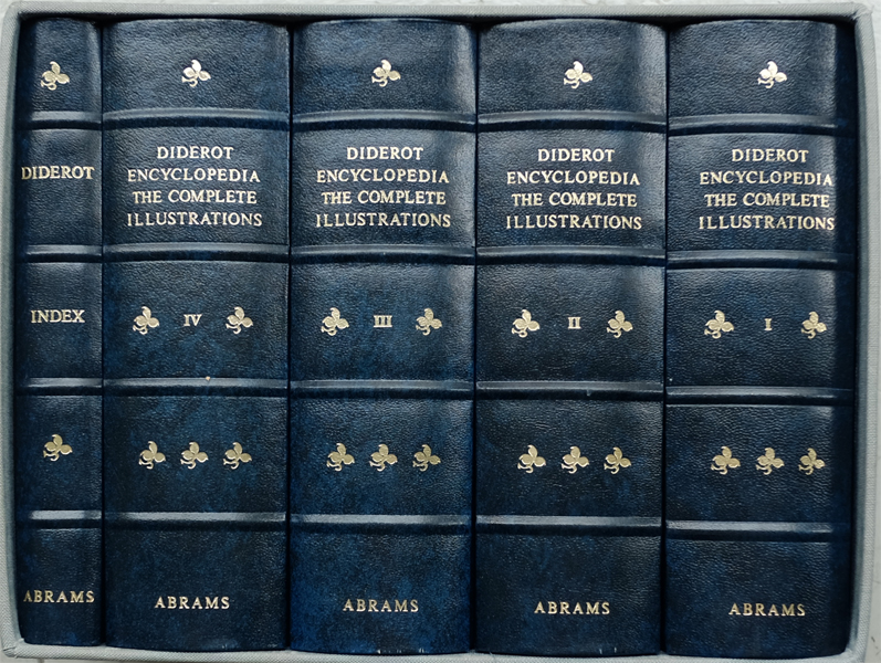 DIDEROT ENCYCLOPEDIA THE COMPLETE ILLUSTRATIONS