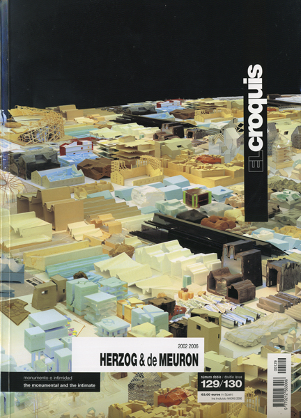 Herzog & de Meuron: El Croquis 129/130
