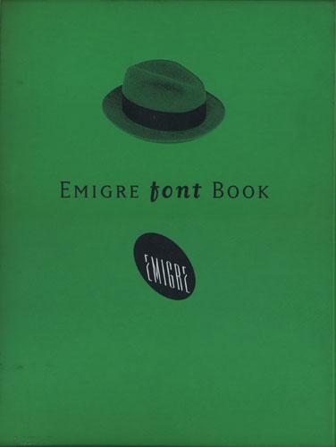 EMIGRE FONT BOOK