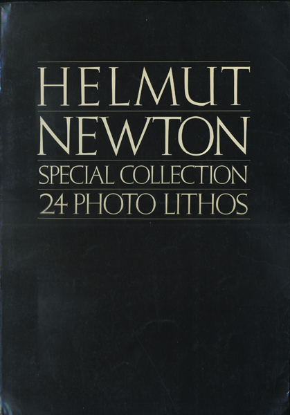 Helmut Newton Special Collection 24Photo Lithos