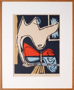 Le Corbusier Original Lithogarph: Le Poeme de l'Angle Droit [ed.60, Signed]