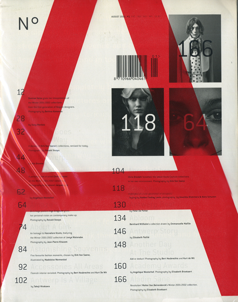 N°A Magazine featuring Dirk Van Saen