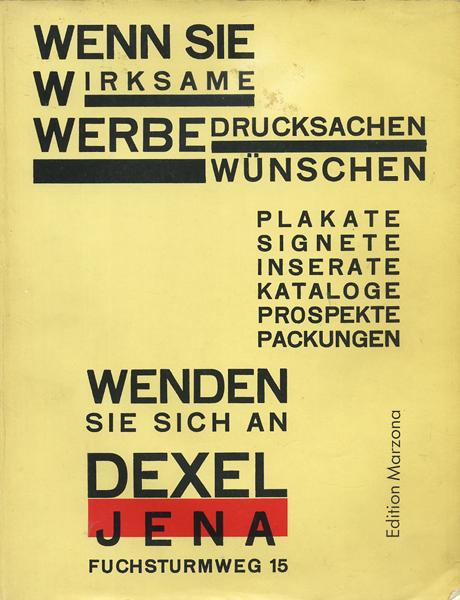 Walter Dexel: NEUE REKLAME