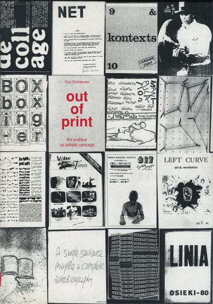 out of print: an archive as artistic concept