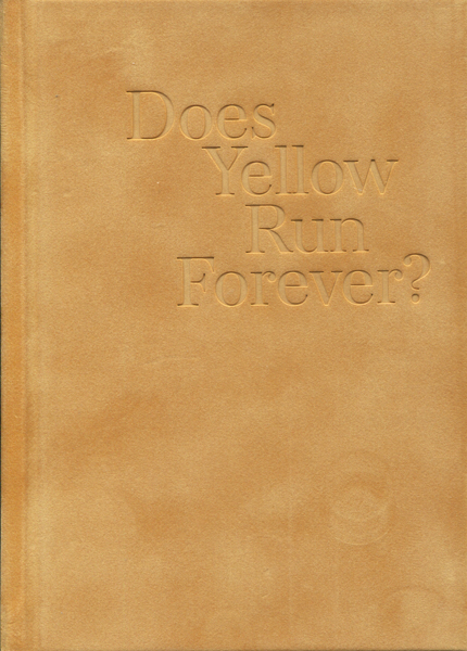 Paul Graham: Does Yellow Run Forever?