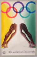Olympische Spiele Munchen 1972 Art Poster No.11-15