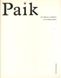 Nam June Paik: Du cheval a Christo et autres ecrits